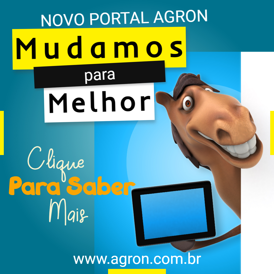Banner Agron Mudança do Site