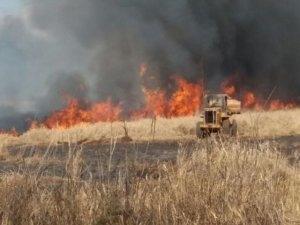 Controlado incêndio em fazendas de Maracaju,ms