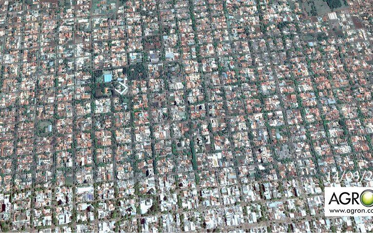 Cidade de Dourados-MS em imagens inéditas de satélite