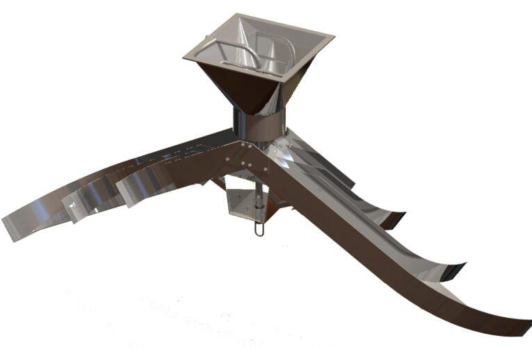 Espalhador de Grãos 120ton/hr