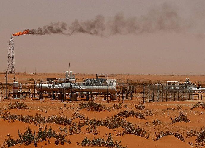 Arábia Saudita tem queda do petróleo