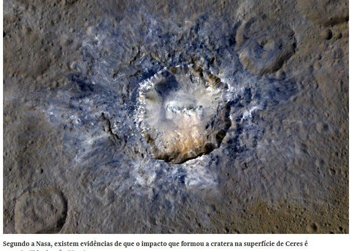 Novas Imagens de misteriosos pontos luminosos de Ceres