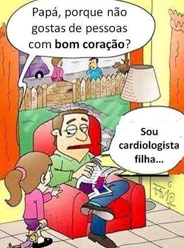 Piada e humor: A morte do médico cardiologista