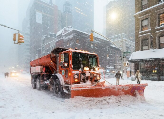 Washington está paralisada por tempestade de neve