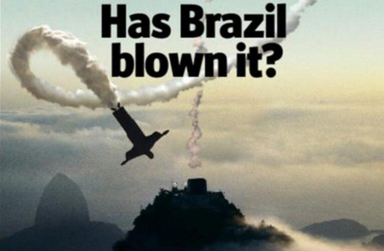 """O """"atoleiro"""" Brasil é o destaque da The Economist"""