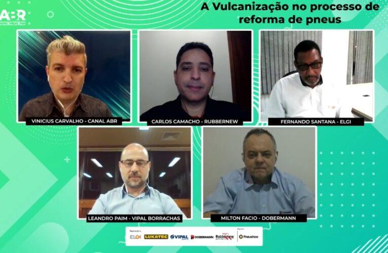 Vipal participa de live da ABR sobre vulcanização