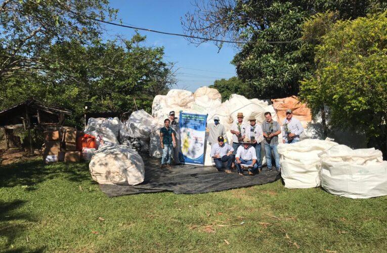 Projeto troca embalagens vazias por mudas de árvores