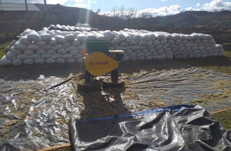 Ensacadora de silagem Do Campo Agrícola –  Diesel
