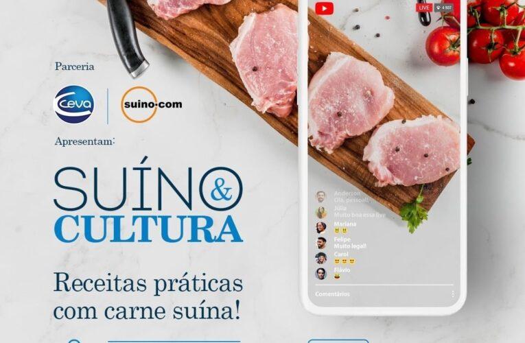 Chefe ensinará receitas com carne suína em live da Ceva