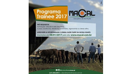 PROGRAMA TRAINEE MACAL 2017