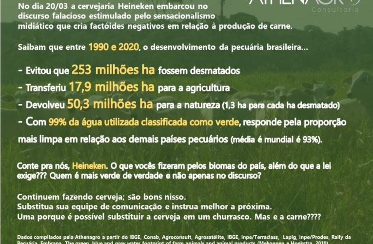 Postagem da Heineken revolta quem produz alimentos