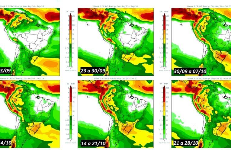 Atualização de previsões climáticas