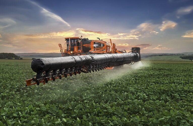 Aplicação de fungicida visando ao controle da ferrugem da soja