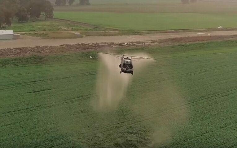 Maior drone agrícola do mundo