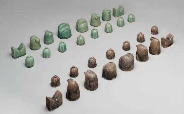 Jogos de xadrez mais antigos já encontrados
