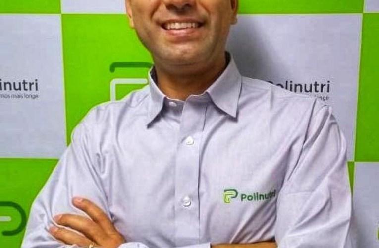 Polinutri apresenta Mateus Lopes, novo Coordenador Técnico-Comercial